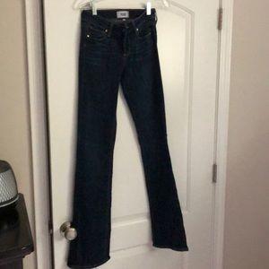 Paige Manhattan bootcut Jean. Size 26